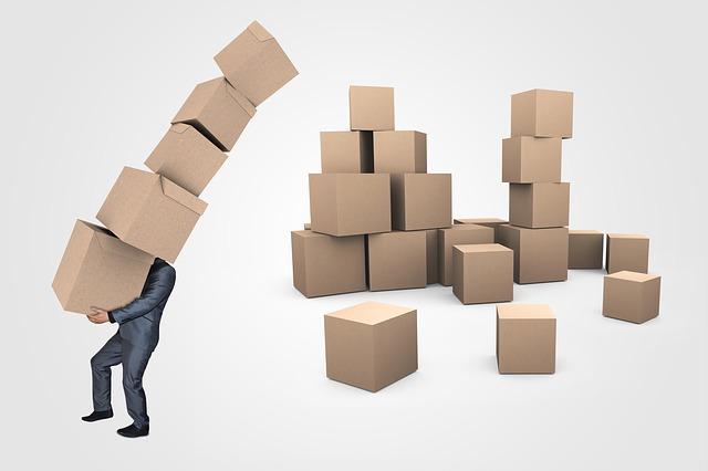 Dobozok költöztetéshez